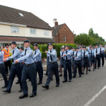 Image of Air Cadets Marching