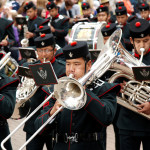 Image of the Band of the Brigade of Gurkhas
