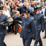 Image of Air Cadets Saluting