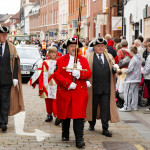 Image of Town Crier with Mace Bearers and Herald