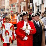 Image of Town Crier with Mace Bearer and Herald
