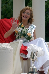 Image of Bower Queen Angela Harrison