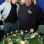 Image of Jason Wright pictured right with sponsor Stuart Stanworth