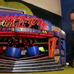 Image of Modelmaker Mick Anderson with his model Waltzer